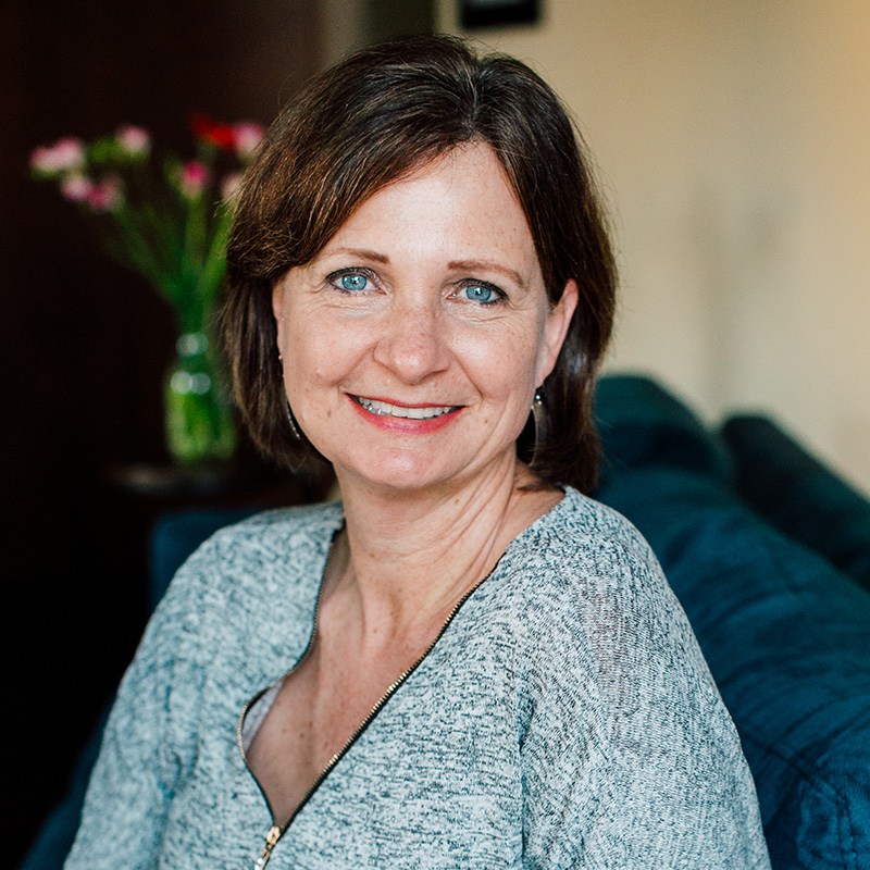 Headshot photo of Patti Rowlson, founder and marketing director
