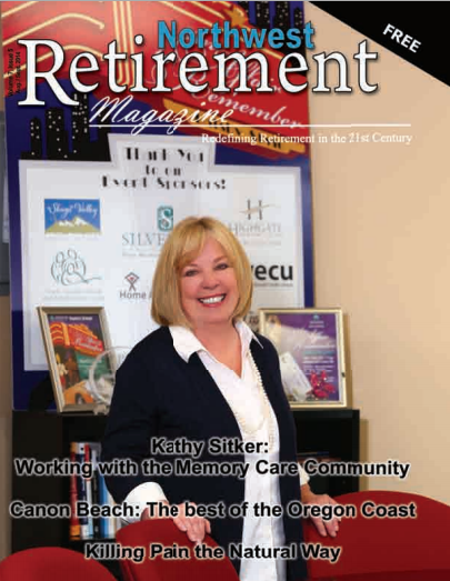 Kathy Sitker of Alzheimer Society of Washington featured in NW Retirement Magazine