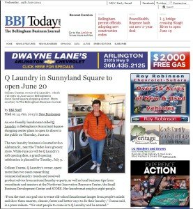 Q Laundry Opens in Bellingham