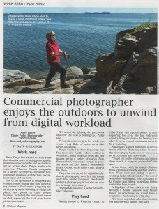 Diane Padys, of Diane Padys Photography, featured in the Bellingham Herald
