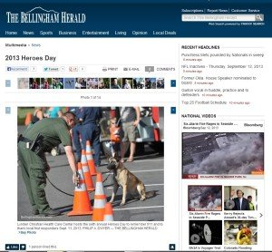 Christian Health Care Center's Heroes Day featured in the Bellingham Herald