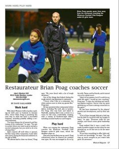 Local Restauranteur Coaches Soccer