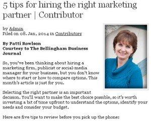 5 tips for hiring the right marketing partner