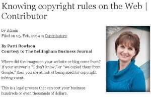 Knowing copyright rules on the Web