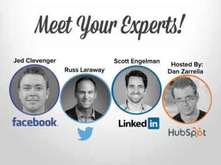 "Highlights from the HubSpot webinar, ""The Secrets Behind Social Media Today"""
