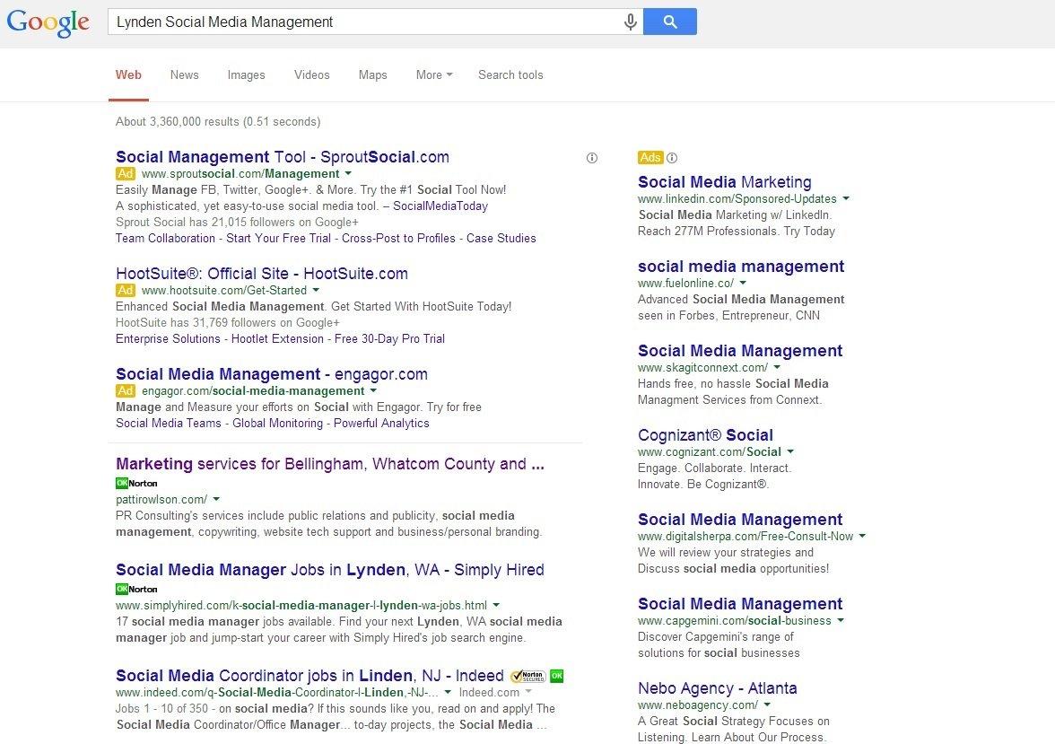 Lynden Social Media Management - May 2014