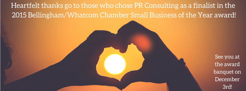 PR Consulting named finalist in Small Business of the Year award