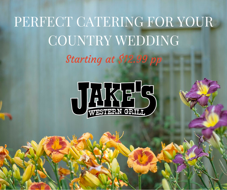 Catering for country wedding-Jakes