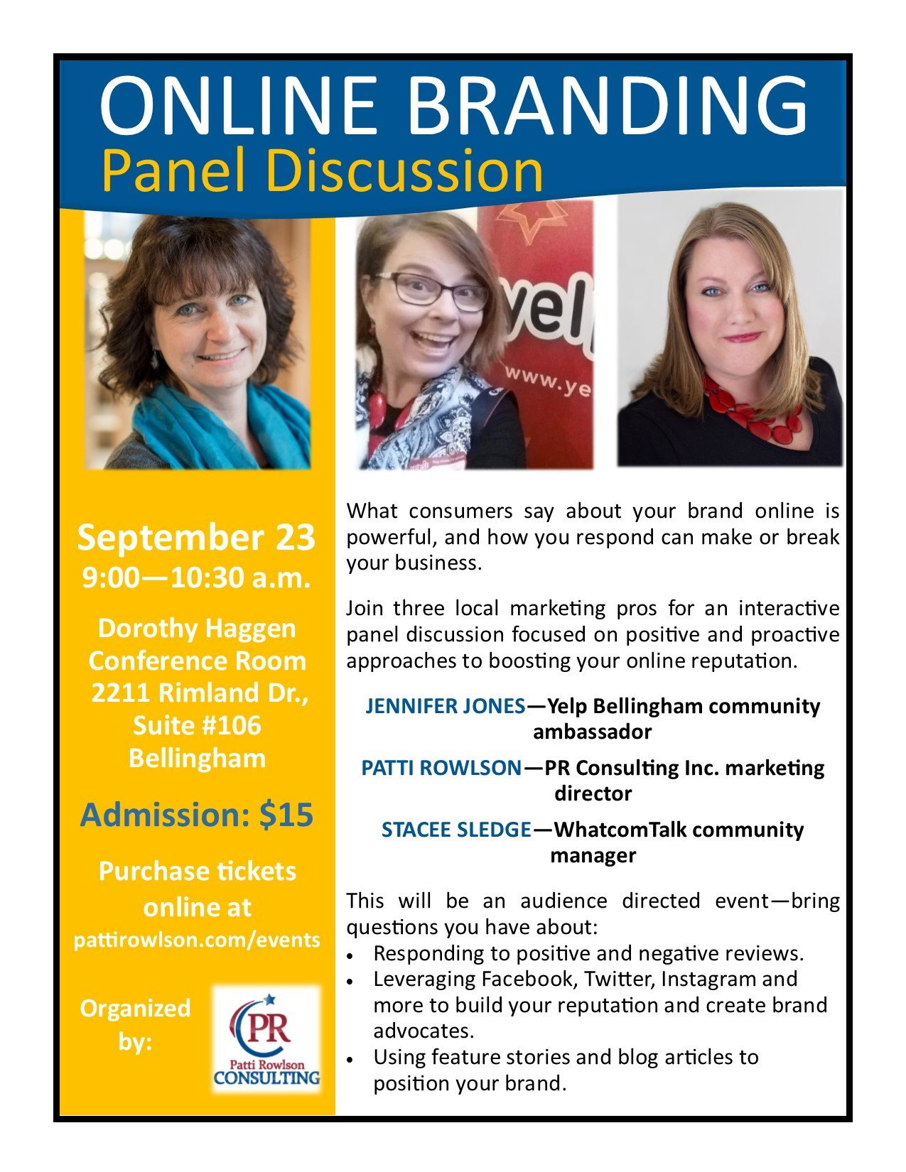 September 2016 Panel--online branding V2