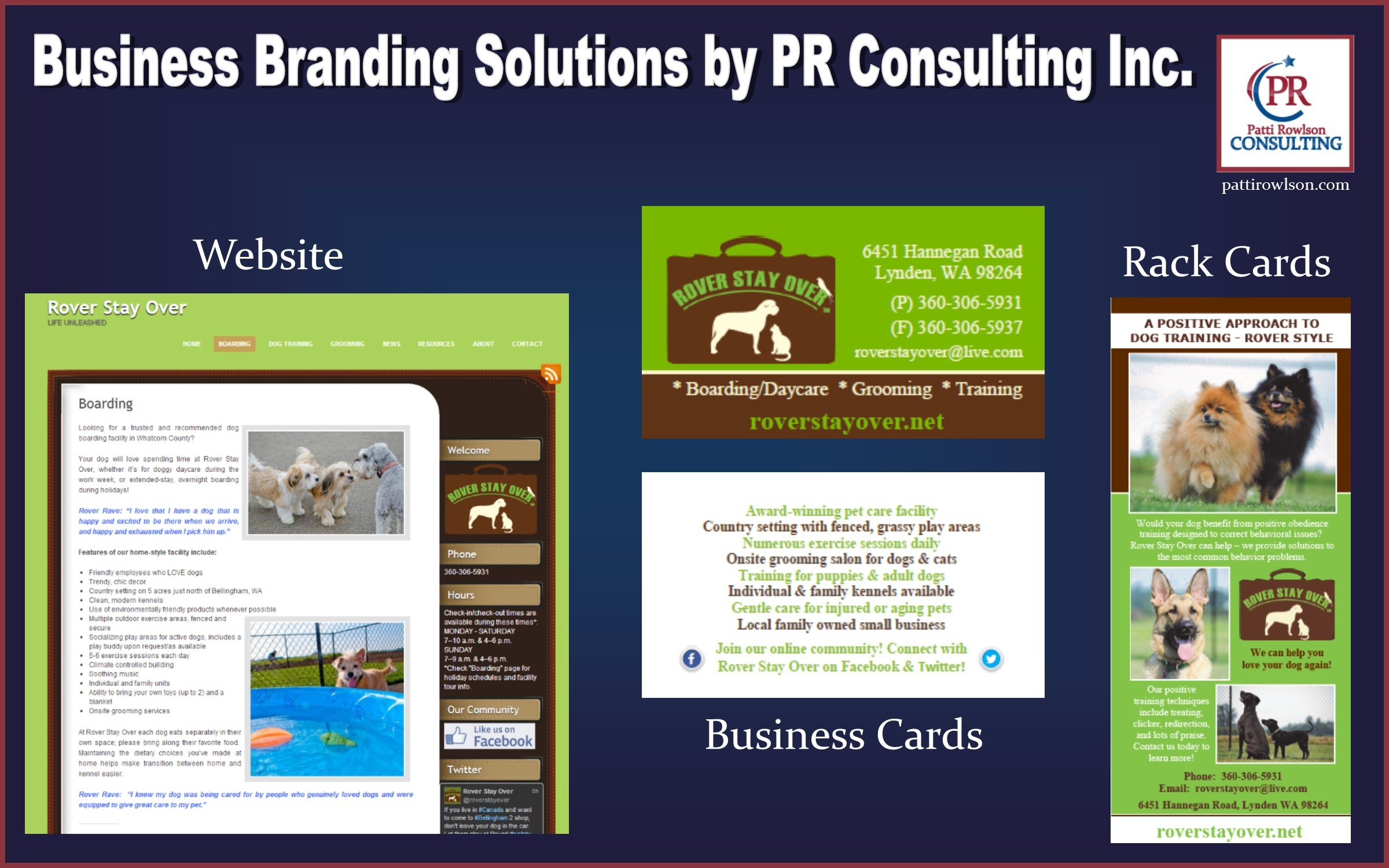 prehensive branding materials