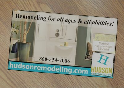 Print ad for remodeling contractor