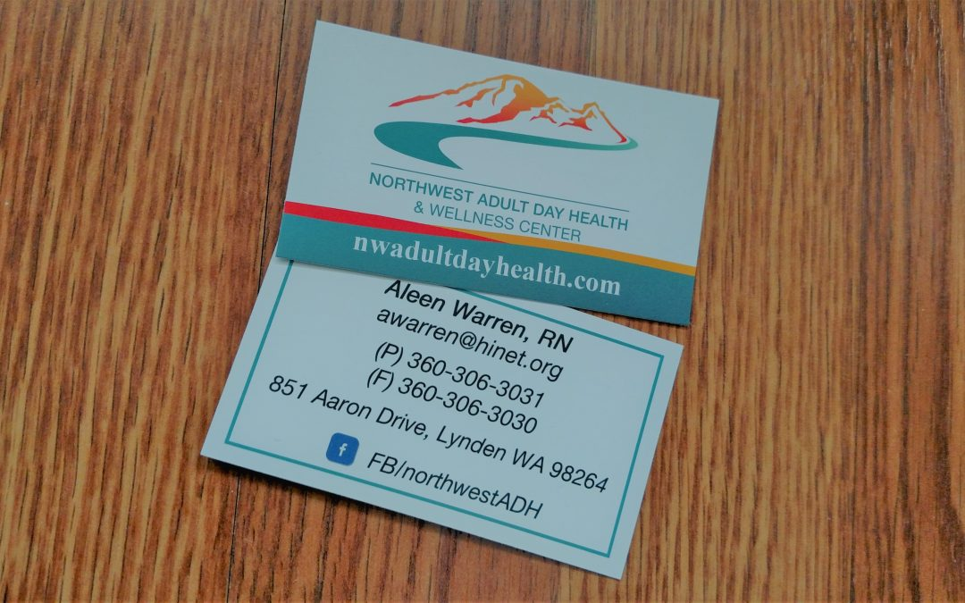 Business cards for healthcare