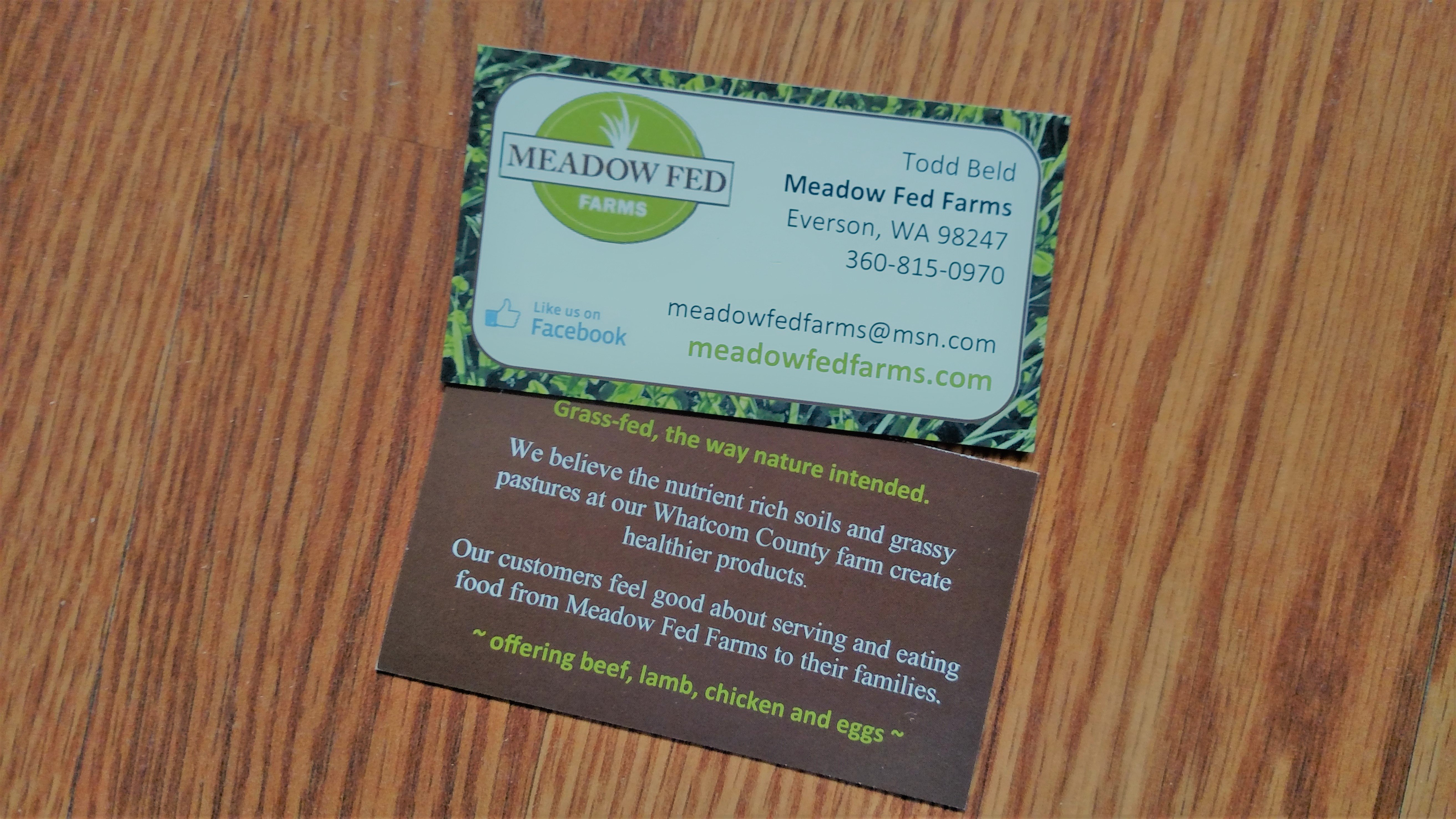 Graphic design pr consulting news business card for local farm magicingreecefo Choice Image