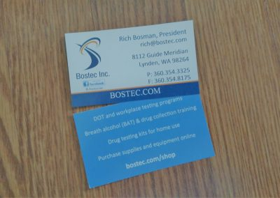Business card for small business
