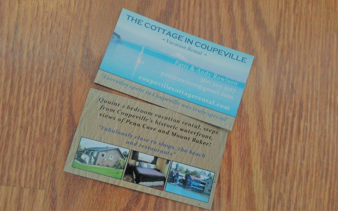 Business cards for tourism and hospitality