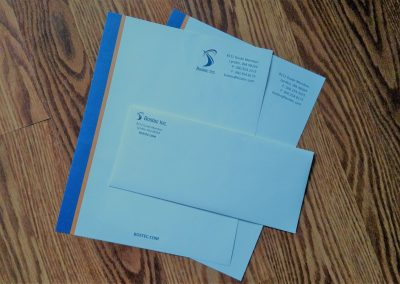 Letterhead for small business