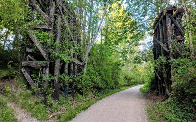 Networking trail walk in Bellingham: May 31, 2018