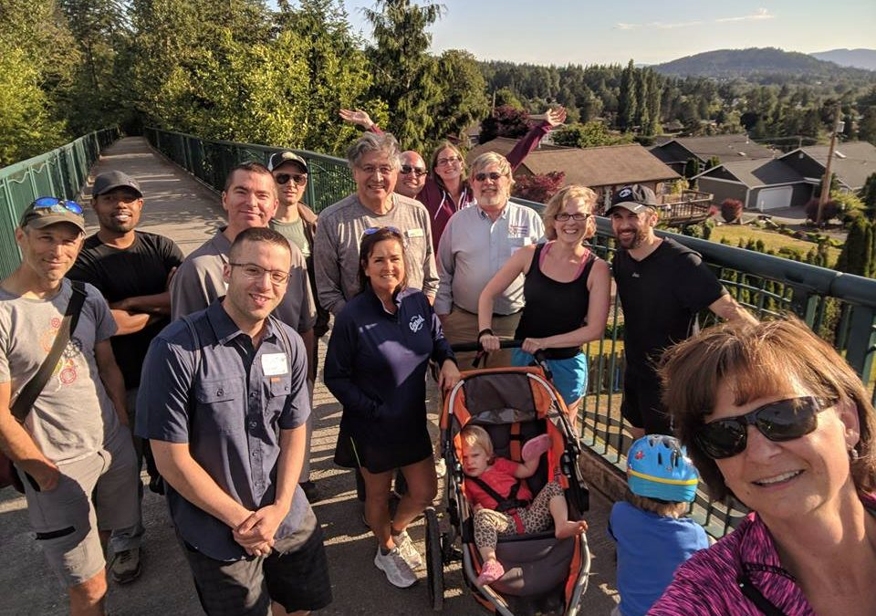 Networking trail walk in Bellingham: June 28, 2018