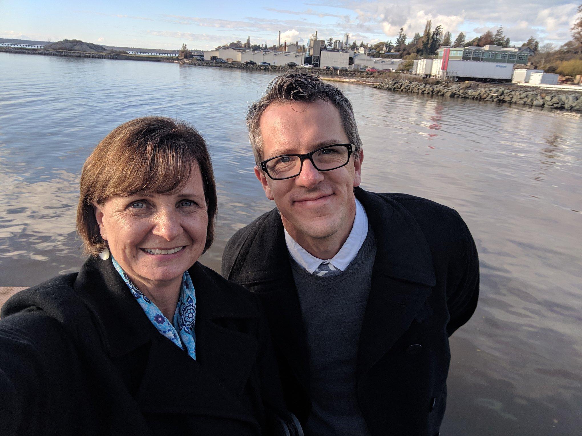 Patti Rowlson and Matthew Anderson, 2018.