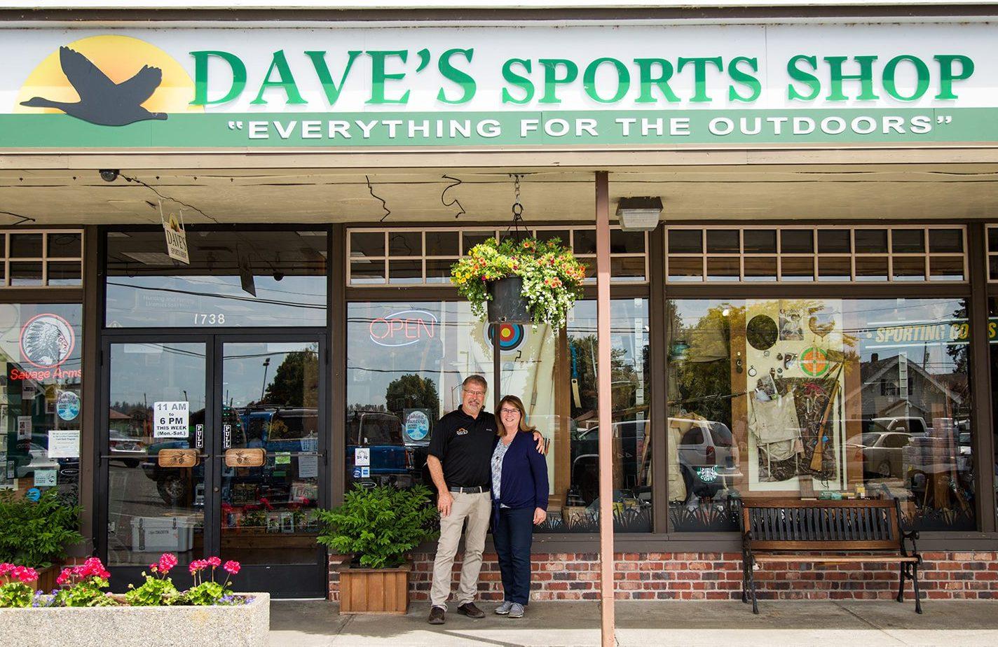 Dave's Sports Shop, Lynden WA